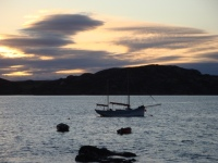 Sun rise, Iona