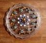 Beads organised